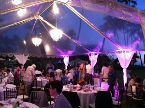 Clear Tent Lanikuhonua