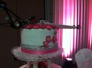 Dragster Cake