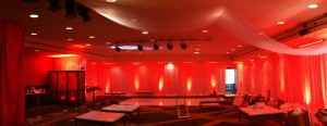 The Red Lounge - Heart Ball at Sherton